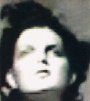 Paolo Roversi, Abstract portrait of Guinevere I, Paris, 1996