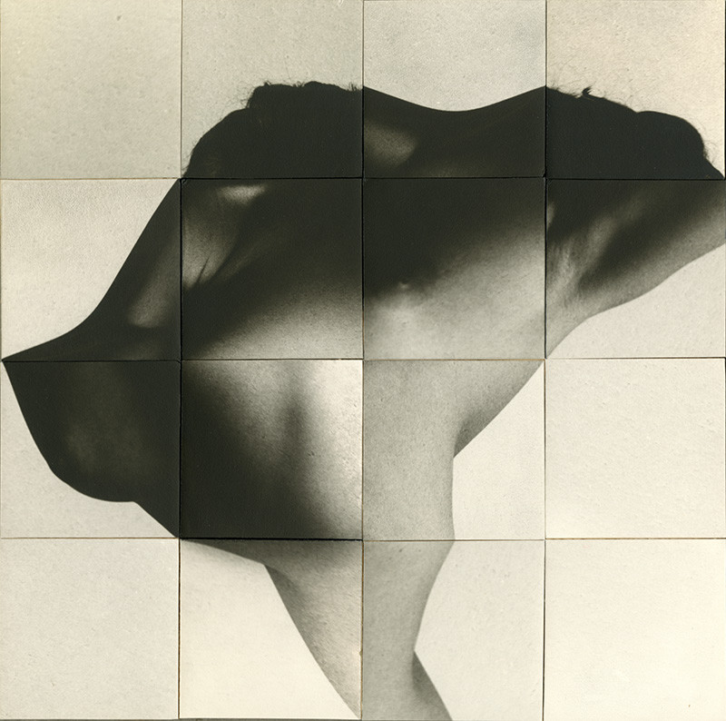 Robert Heinecken, Figure/Flower, 1968
