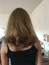 Lang Haarschnitt