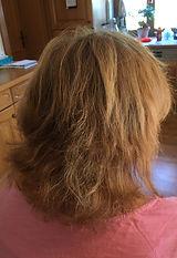 Voher Bild mittlere Haarlänge