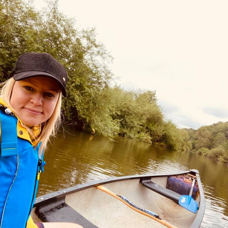 Why you should hire a canoe on the River Severn. By Rosie Dutton, Mum In The Moment blogger...