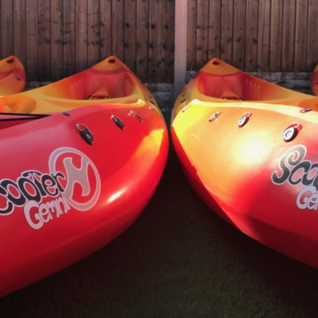 Brand new canoes available to hire on the River Severn!