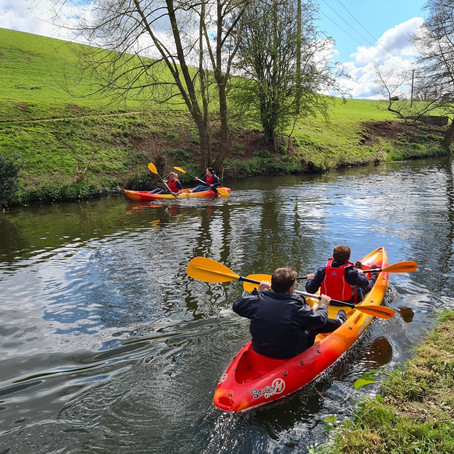 Enjoy a kayak trip on the Kinver Canal, followed by lunch at the pub- the perfect day out!