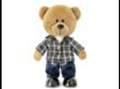 Медведь Оливер муз.(24см)