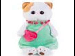 Ли-Ли в мятном платье с розовой сумочкой 24см
