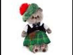 Басик в шотландском костюме 25см