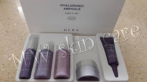 韓國 赫拉 透明質酸安瓶旅行裝5件 HERA HYALURONIC AMPOULE SIMPLE SET 5PCS KIT