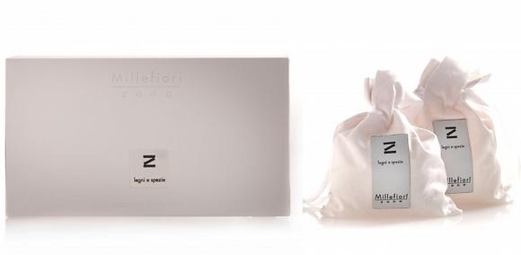 MF-4SAT Fabric scented sachet - 2pieces - Zona