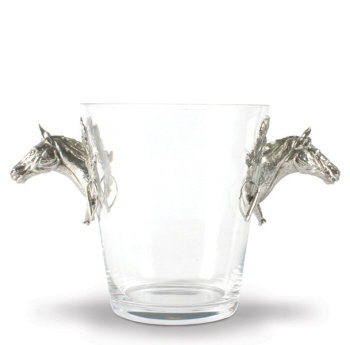 VH-H126HL Horse Glass Ice Bucket