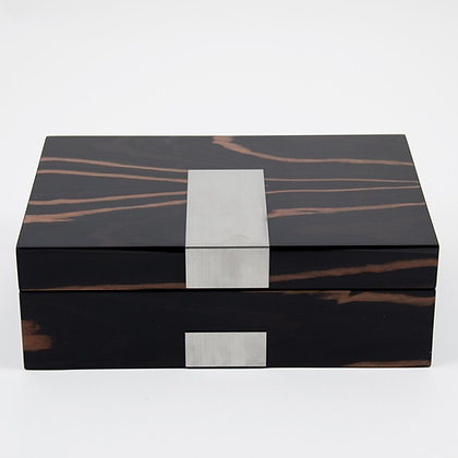 BB-BB600EBM Lacquered Wood Valet Box
