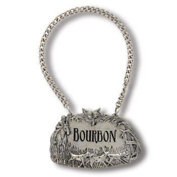 VH-B135HB Hunt Bourbon Decanter Tag
