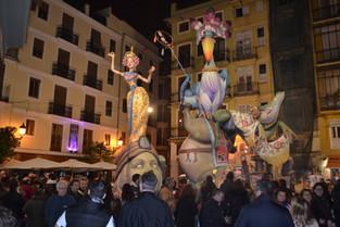 An Alien in Spain Visits - Valencia ( La Cremà)