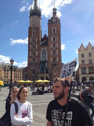 An Alien in Spain Visits - Poland (Krakow)