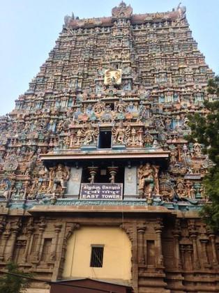 An Alien in Spain - Visits India (Madurai)