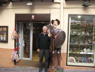 An Alien in Spain visits - Toledo
