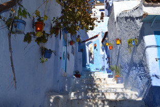 An Alien in Spain Visits - Morocco (Chefchaouen)