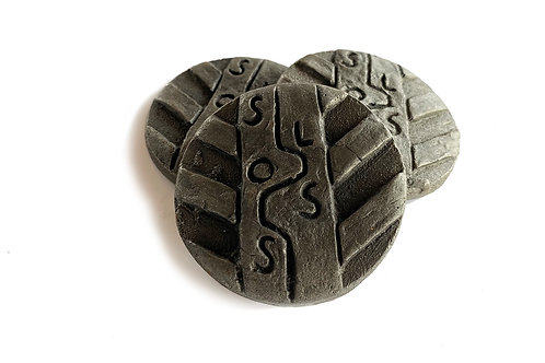 Tire Tracks Coin