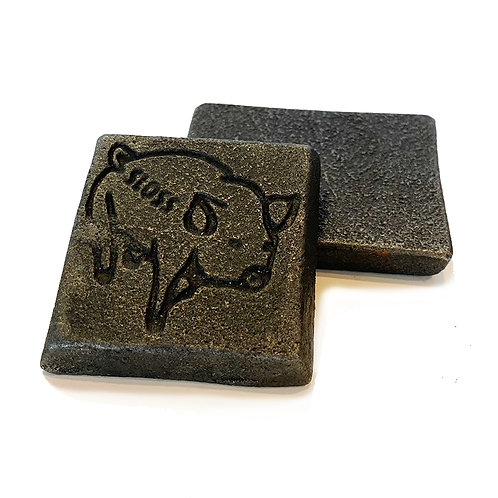 Pig Coin- Square