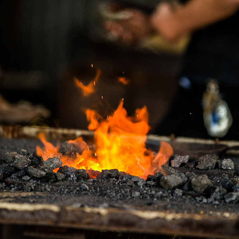 May 22nd-23rd , Basic and Intermediate Blacksmithing