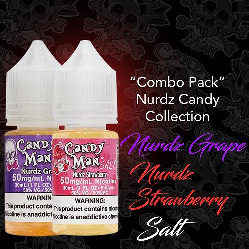 Nurdz Candy Collection- Strawberry Salt ™ & Nurdz Grape Salt™