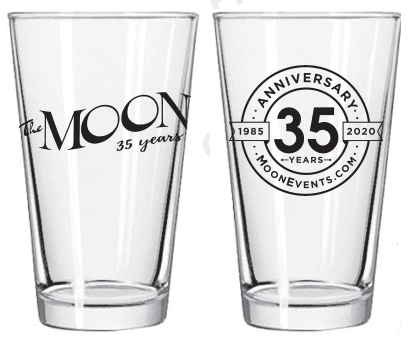 35th Anniversary Beer Glass (Set of 4)
