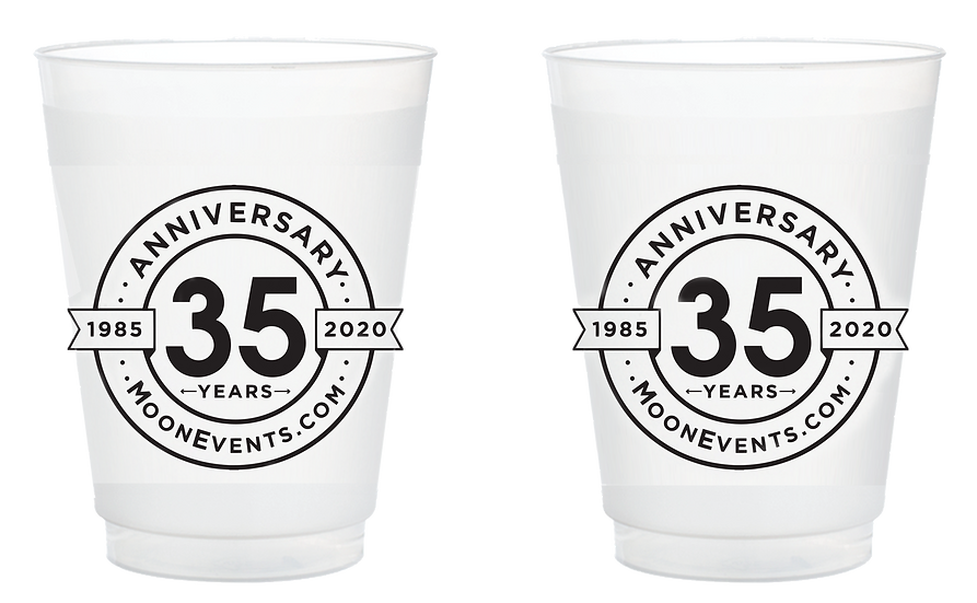 35th Anniversary Frosted Cup