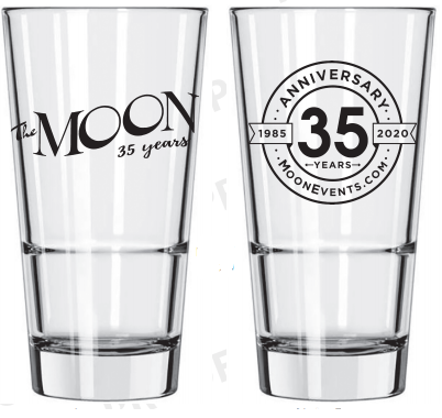 35th Anniversary Commemorative Glass (Set of 4)