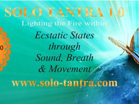 Dublin Solo-Tantra 1.0, Sun 3. Sept.