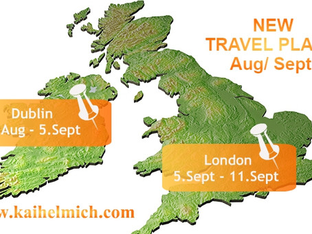 My NEW Travel Plans