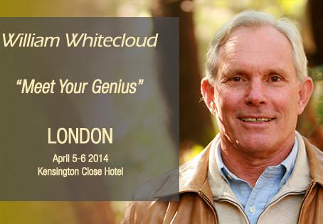 """William Whitecloud - """"Meet your Genius"""""""