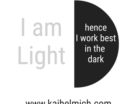 The freeing psychology of light and darkness