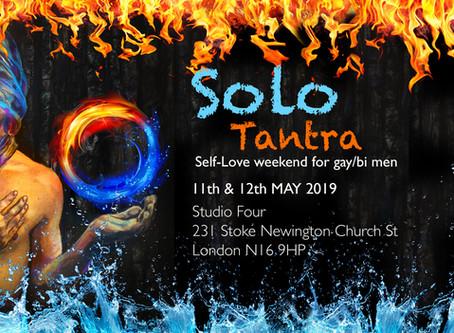 NEW Gay/ Bi Solo Tantra in London