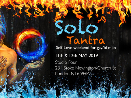 NEW Gay/ Bi Solo Tantra in London