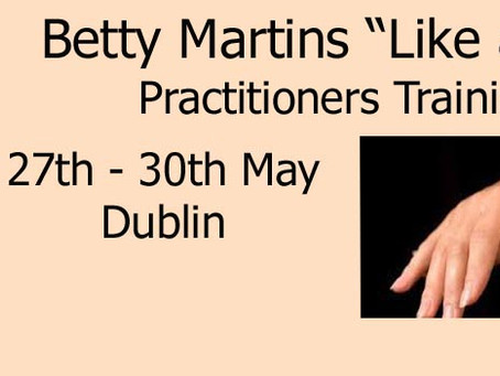 "Practitioners Workshop ""Like a Pro"" with Dr. Betty Martin"