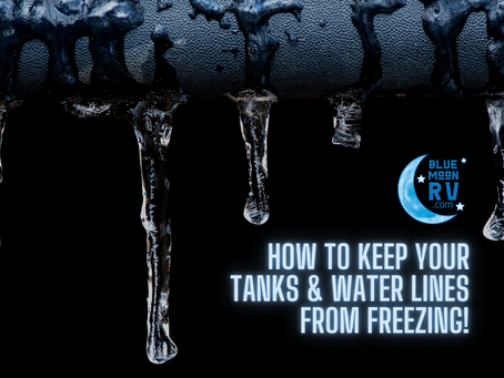 How to keep your tanks & water lines from freezing!