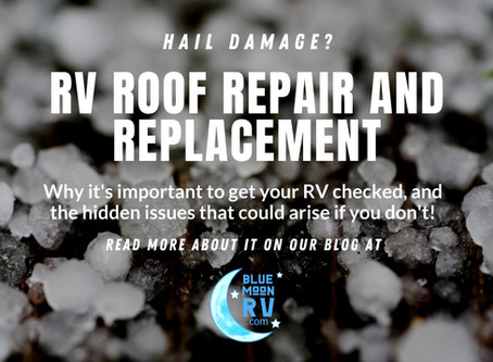 Keep hail damage from adding costly repairs to your home on wheels!