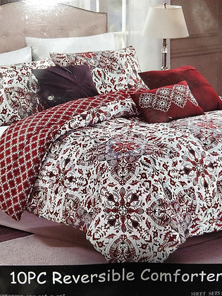 Comforter with bedsheets Set