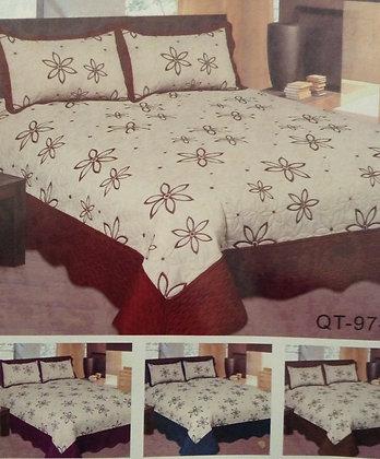Bed Spread , Queen 3 pcs set