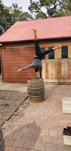 1Dwellingup Retreat Strength Handstands