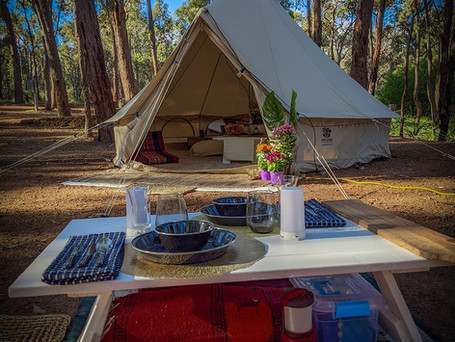 1Glamping LL Dining and Tent02 cWildClea
