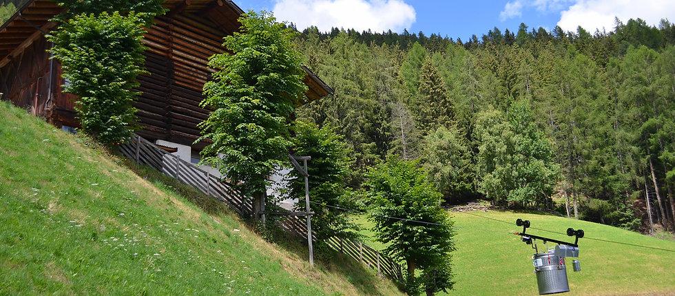 Wandern im Ultental - Ferienwohnungen Thalhof