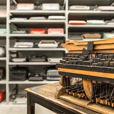 Schreibmaschinenmuseum Rier Helmuth_Okto