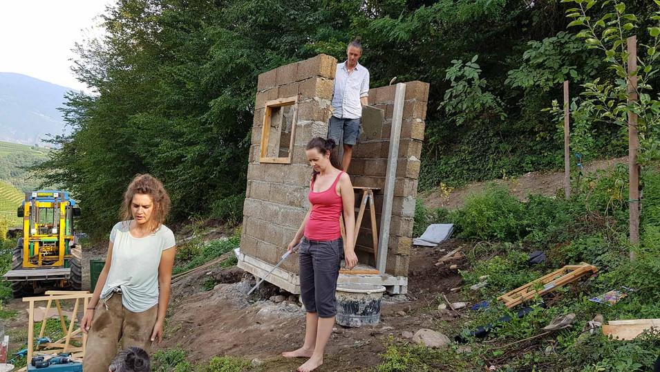 Komposttoilette_Hof_des_Wandels in Eppan