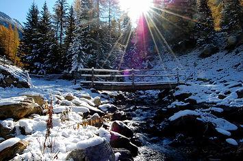 Skiurlaub im Ultental - Bio Marsonerhof Ferienwohnungn