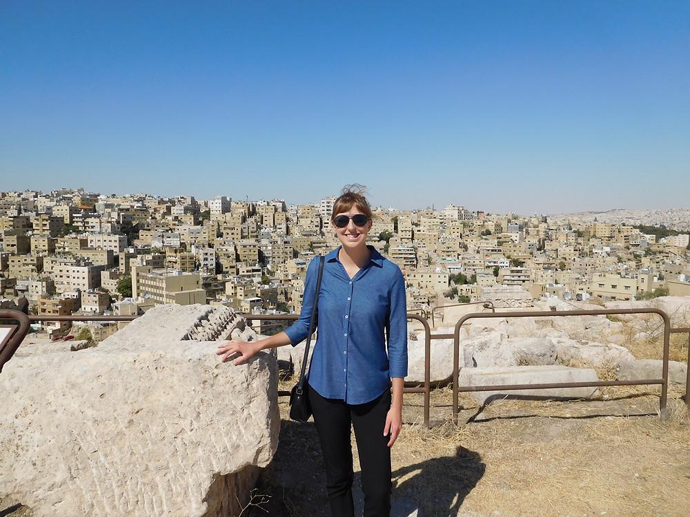 OU Senior Libby Trowbridge in Amman, Jordan