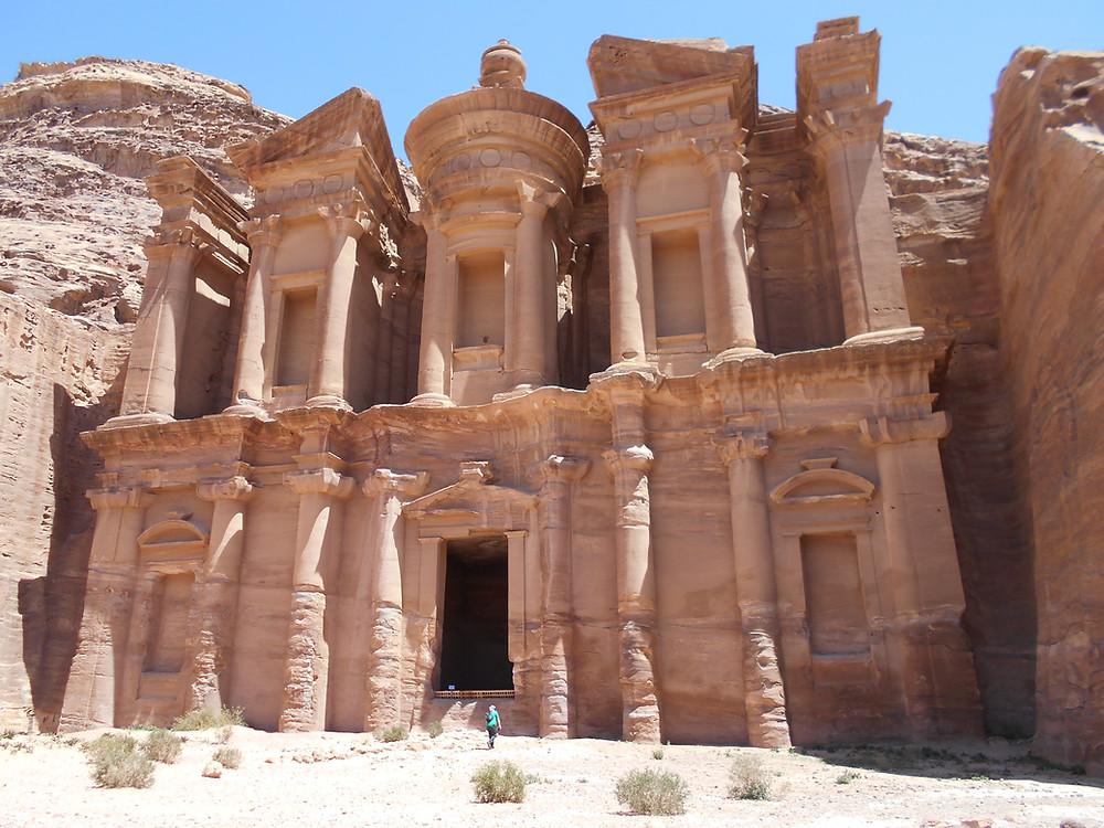 Petra, 3rd-century monastery in Amman