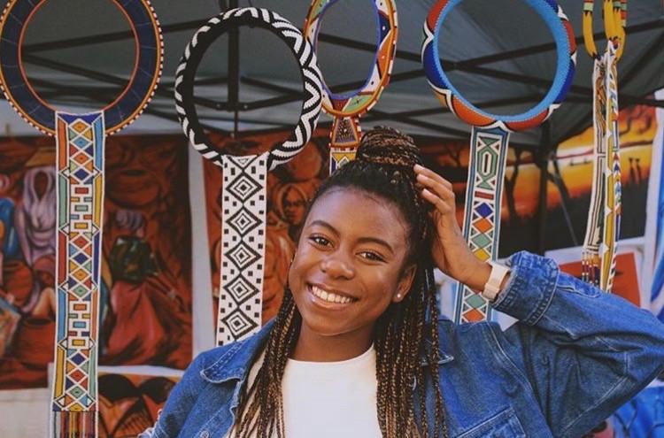 OUA student Leticia Muiunane