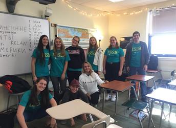 International Student Speakers Bureau Brings Cultural Awareness to Norman Seventh Graders