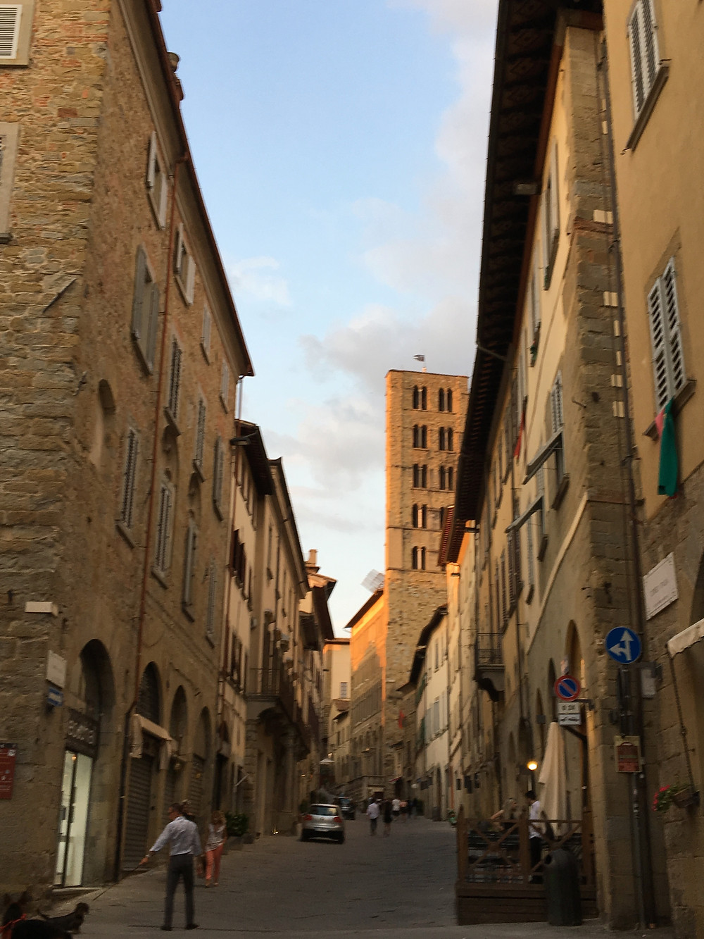 The heart of Arezzo.