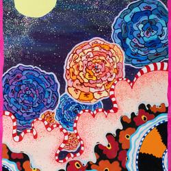Pretty Poppy Starry Night